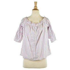 Abercrombie & Fitch Blouses LG Pink